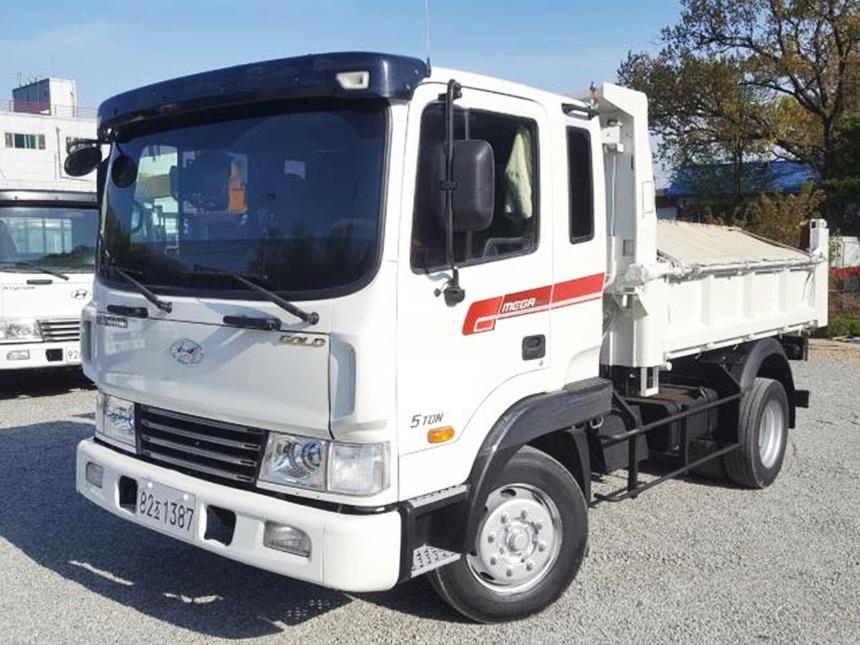 현대 메가트럭 정품덤프 2012년 7월 신조 무사고 실주행6만운행